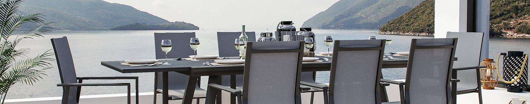 Comedores con mesas extensibles y sillas