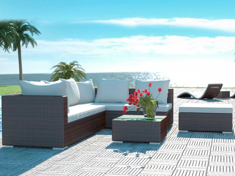 Arteleya sal n para exteriores aliando for Salon de jardin de resina de equilibrio