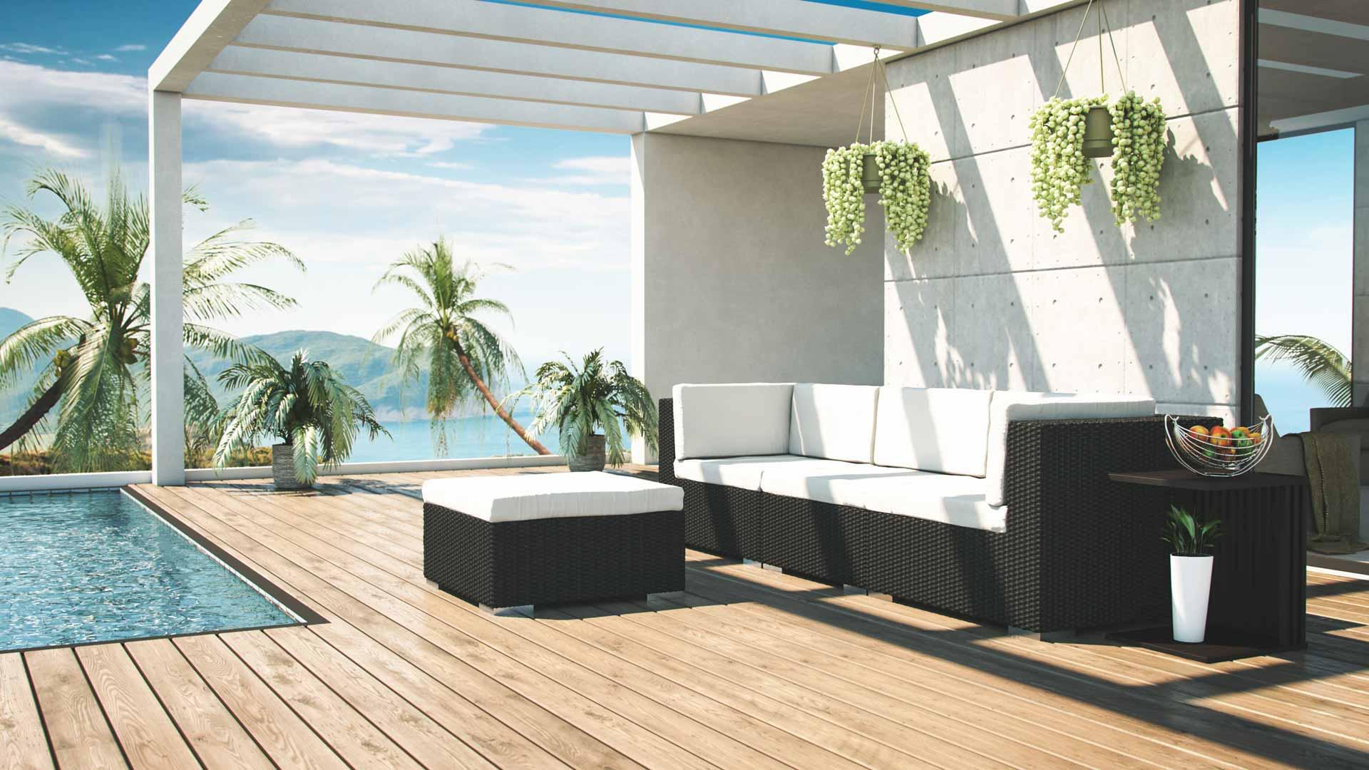 Mobiliario de jardín Mavinia S