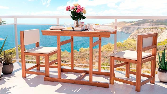 McNulty - Mobiliario para el balcón