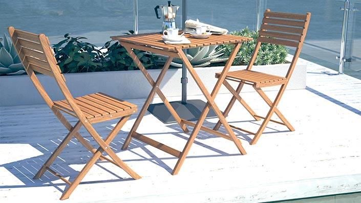 Tinero - Mobiliario para el balcón