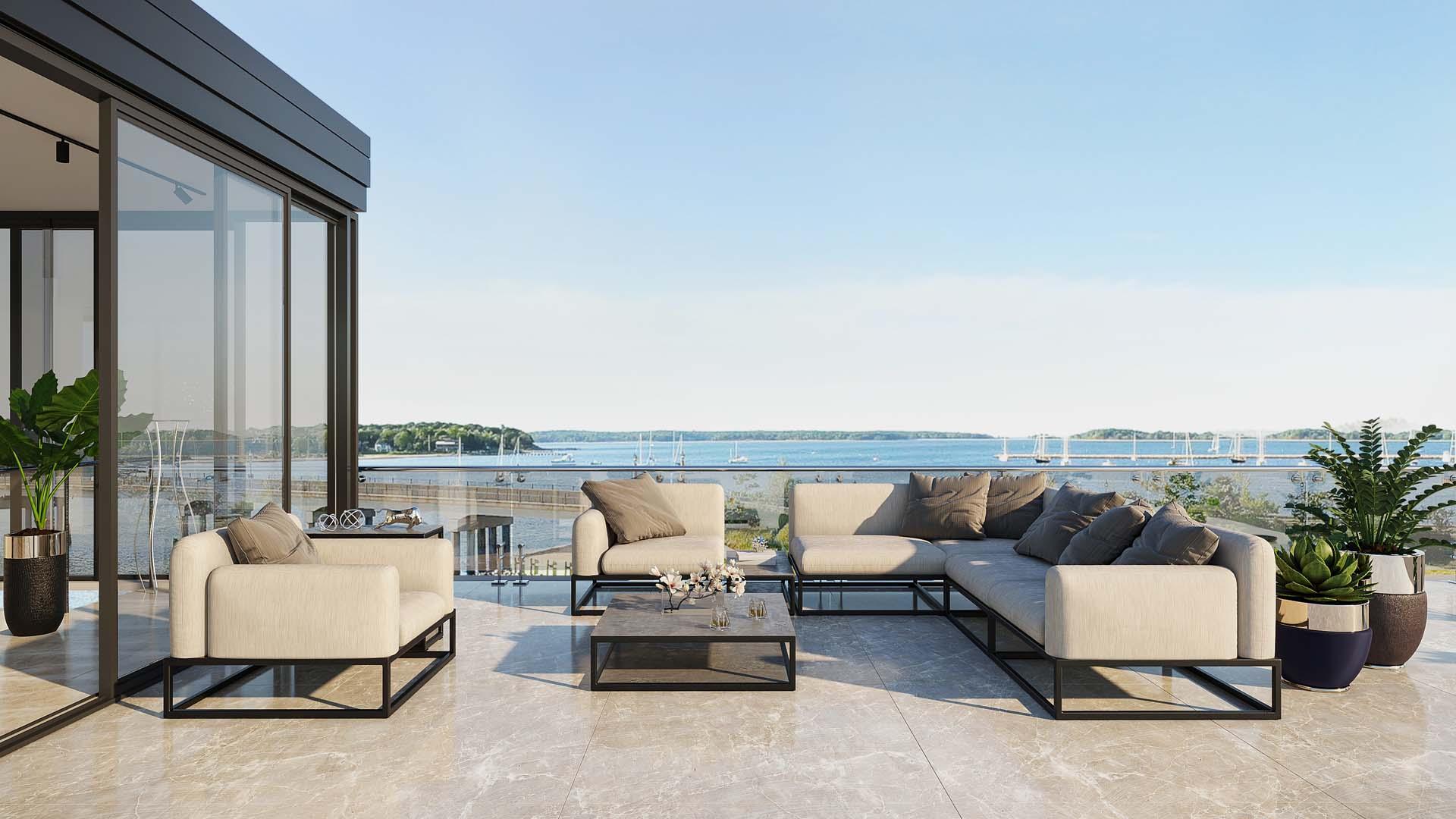 Transforme su terraza en un lugar de confort...